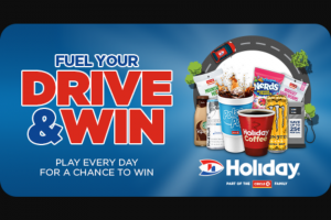 Holiday Stationstores – Fuel Your Drive And Win – Win Quantity Approximate Retail Value Hot Coffee or Cappuccino Iced Coffee (any size) 30000 $1.33 Polar Pop or Holiday Pop (any size excl