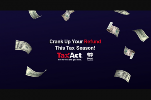 Iheart – Tax Act Boosts Your Returns – Win the form of a check