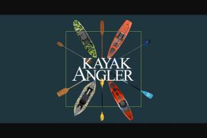 Kayak Angler – Pelican Giveaway – Win one Pelican Bass Raider Boat