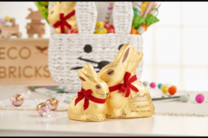 Lindt & Sprüngli – The Ultimate Easter Basket With Lindt Gold Bunny & Crate And Kids Giveaway – Win a prize package consisting of    (1) White Bunny Easter Basket – (ARV) $29   (1) Queen Bee Jellycat – (ARV) $30   (1) Ooly® Beeswax Crayons