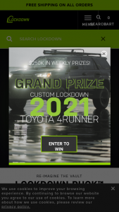Lockdown – Green Looks Good On You Giveaway – Win Toyota 4 Runner