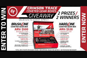 Midwayusa – Crimson Trace Coveted Gear Box Giveaway Sweepstakes