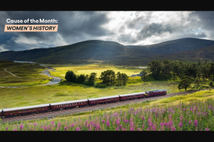 Omaze – Luxurious Train Ride Through The Scottish Highlands On The Royal Scotsman – Win a 6 day