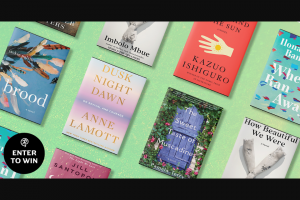 Penguin Random House – Favorite March Books – Win Eight (8) Books published in March 2021 Dusk