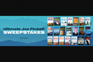 Penguin Random House – Joe Pickett – Win 20 paperback books (Prize Approximate Retail Value $340) 1 hardcover book (Prize Approximate Retail Value $27)