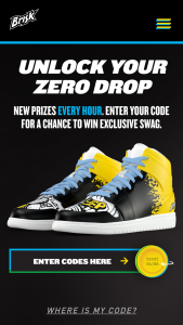Pepsi-Cola – Brisk Under The Cap Game Sweepstakes