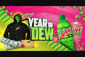 Pepsi-Cola – Mtn Dew & Speedway Charge Your Garage Instant Win Game & – Win the difference in prize value and $10000 awarded in the form of a check made out in the winner's name to assist with any incidental costs and fees