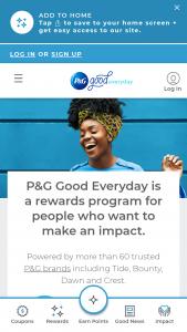 P&g Good Everyday Rewards Sweepstakes