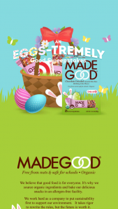 Riverside Natural Foods Madegood – An Egg-Stremely Good – Win one $500 Target gift card