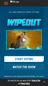 Turner Entertainment Tbs – Wipeout Bracket Battle – Win a US $1000 gift card and Wipeout Yoga Ball