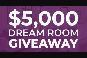 Value City Furniture – Dream Room Giveaway – Win (maximum of 3) Each Winner shall be awarded the Grand Prize $5000 Value City Furniture gift card