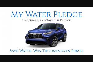 Wyland National – Mayor's Challenge For Water Conservation – Win a 2021 Toyota Highlander Hybrid XLE 3.5L 5-Cyl