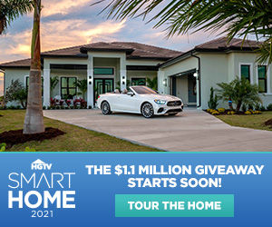 HGTV – Smart Home 2021 – Win a $1.1 Million home
