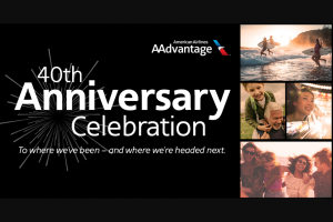 """American Airlines – Aadvantage 40th Anniversary Celebration  – Win one (1) """"2-Night Travel Package For 4 People To Arnold Palmer's Bay Hill Club & Lodge In Orlando"""
