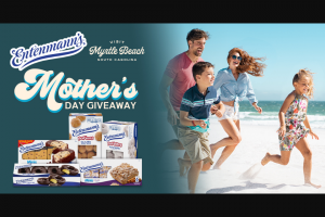 Bimbo Bakeries – Mother's Day Giveaway With Entenmann's & Visit Myrtle Beach – Win a trip that includes three (3) nights
