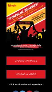 Bojangles – #sponsormebojangles Contest 2021 – Win check and one prize pack of Bojangles swag from wwwstorebojanglescom