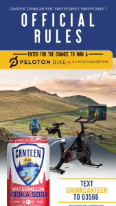 Canteen – Drinkbetter – Win (1) Grand Prize is available