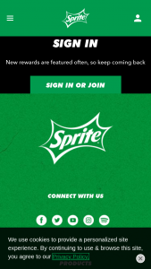 Coca-Cola – Sprite National Basketball Instant Win – Win shoe closet awarded as $2500 in sports apparel retailer gift cards