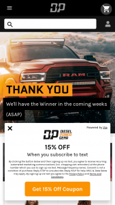 Diesel Power Gear – Odin Giveaway – Win F-450 Super Duty (ARV of $78240 USD) and a one-way trip for the winner to Salt Lake City Utah to pick up the prize and meet the Diesel Power Crew