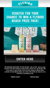 Don Sebastiani & Sons Flybird – Summer  – Win a branded Flybird towel