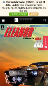 Eaglemoss – Ride Aboard The Eleanor Mustang – Win the exclusive 1/24 scale model of the Eleanor Mustang