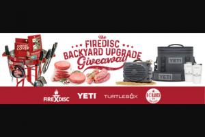 Firedisc – Account Activation – Win BACKYARD BUNDLE