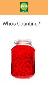 Food Network Magazine – May 2021 Who's Counting Contest – Win a $500 check (ARV $500).