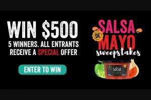 Foodstory Brands – Salsa De Mayo Sweepstakes