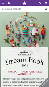 Hallmark – Win Your Hallmark Keepsakes Wish List – Win each winner will be the ornaments contained on the wish list submitted by that entrant