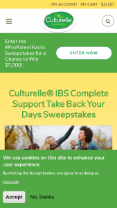 I-Health Culturelle – Ibs Complete Support – Win a box of Culturelle IBS Complete Support