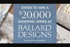 Iheart – Big Ballard Bucks – Win merchandise for room makeover with free design services