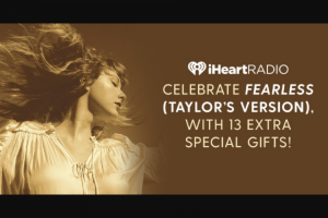 Iheartmedia – Fearless Weekend Sweepstakes