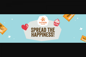 Incredo Sugar Douxmatok – Spread The Happiness – Win an Incredo Spreads Kit ARV $22.95.