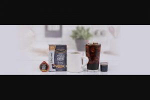 Java House – National Cold Brew Day Sweepstakes