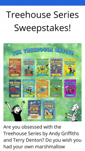 Macmillan – Treehouse Series – Win 1 Grand Prize(s) and 25 First Prize(s) will be offered
