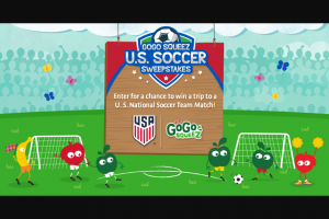 Materne North America Gogo Squeez – Us Soccer Sweepstakes