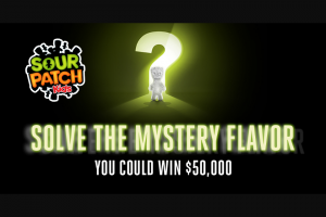 Mondelez Global – Sour Patch Kids Mystery Instant Win & – Win one (1) pair of binoculars