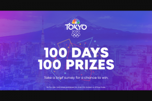 NBC Sports – Olympic Fan Survey – Win consist of the following one (1) Tokyo medal one (1) Tokyo beach bags and one (1) Tokyo phone chargers