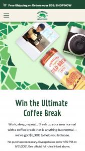 Nestlé USA – Chameleon Coffee Break – Win $3000 and 10 cases of Chameleon Organic Cold-Brew®.