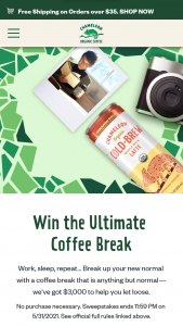 Nestle – Chameleon Coffee Break – Win $3000 and 10 cases of Chameleon Organic Cold-Brew