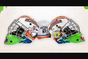 "New York Islanders – Custom Nickelodeon Goalie Mask – Win one (1) custom Islanders and Nickelodeon-themed goalie mask (""Prize"")."