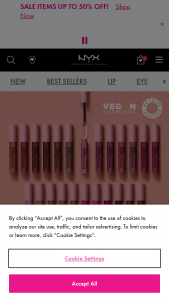 Nyx Professional Makeup – Lip Lingerie Xxl – Win a selection of NYX Professional Makeup product