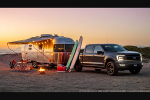 "Omaze – Airstream Caravel And A 2021 Ford F-150 To Tow It – Win an Airstream Caravel 20FB and a 2021 Ford F-150 Lariat (the ""Grand Prize"")."
