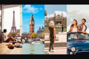 Omaze – Win A Month In The European City Of Your Choice To Live Like A Local – Win component of the Grand Prize for Winner to use to pay required US income taxes