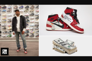 Omaze – Win $15000 To Spend On Streetwear & Air Jordans Handpicked By Complex – Win $15000 USD and a pair of Off-White x Air Jordan 1 Retro High OG Chicago sneakers