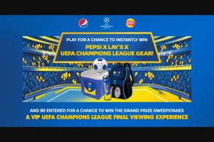 Pepsi – Lay's Uefa Champions League Sweepstakes
