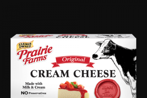 Prairie Farms Dairy – Super Snacking – Win with 10 Free Coupons – Prairie Farms Cream Cheese Spread Cup – any flavor