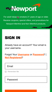 Rj Reynolds – Newport 2021 Boost Your Menthol Instant Win Game And – Win awarded $50000.00 in the form of a check made payable to the winner