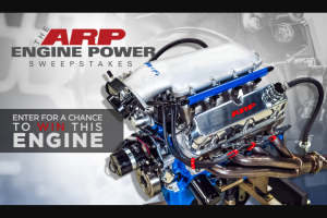 Rtm – Arp Engine Power – Win one prize consisting of a Small Block Ford 302 Engine with performance upgrades valued at approximately $8000.00 USD