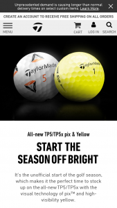 Taylormade – Win A Dustin Johnson Autographed Championship Prize Pack  – Win (1) SIM2 driver one (1) SIM2 3 wood and one (1) SIM2 5 wood one (1) autographed Dustin Johnson staff bag one set of championship-themed headcovers and six (6) dozen TP5 golf balls